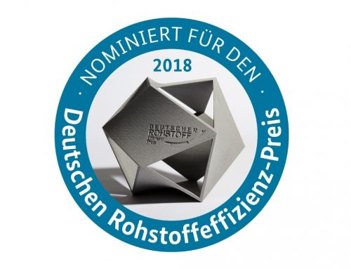 ReLei nominated for the German Raw Material Efficiency Award 2018