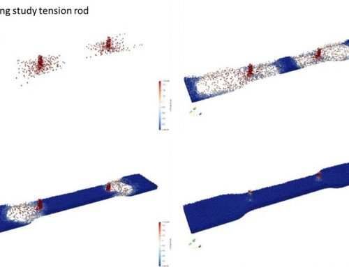 Simulation of the production of foam parts from EPP