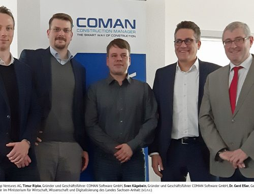 Ceremonial Opening of inpro-Spin-off COMAN Software GmbH in Stendal